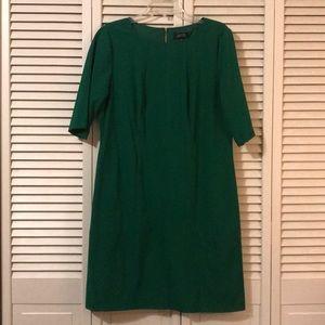 Midi Tahiti ASL green Dress Semi-Formal 12